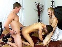 An Accidental Threesome - Jacob Wright, Marcus Mojo And Turk Mason