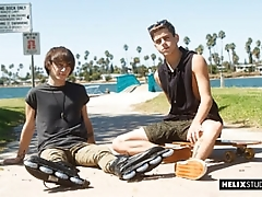 Raw Rollers - Joey Mills and Cole Claire